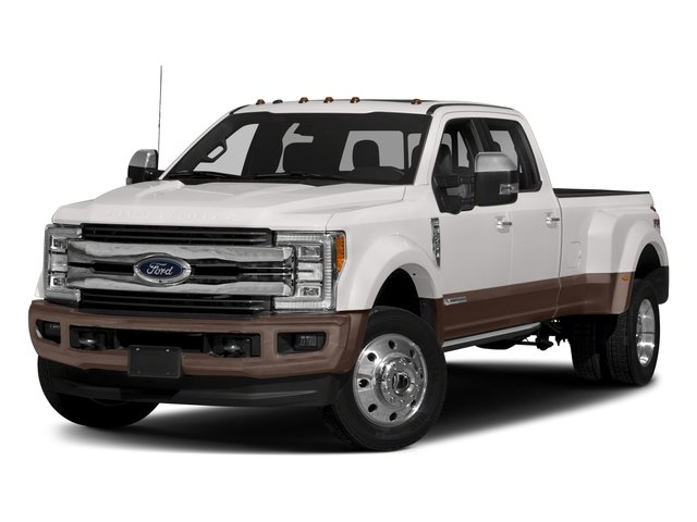 2018 Ford Super Duty F-450 DRW Pictures Super Duty F-450 DRW Crew Cab King Ranch 2WD T-Diesel photos side front view