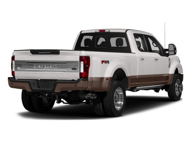 2018 Ford Super Duty F-450 DRW Pictures Super Duty F-450 DRW Crew Cab King Ranch 2WD T-Diesel photos side rear view