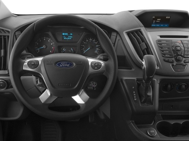 2018 Ford Transit Van Base Price T-250 130 Low Rf 9000 GVWR Sliding RH Dr Pricing driver's dashboard