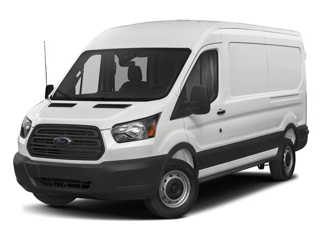 2018 Ford Transit Van Pictures Transit Van T-250 148 Med Rf 9000 GVWR Dual Dr photos side front view