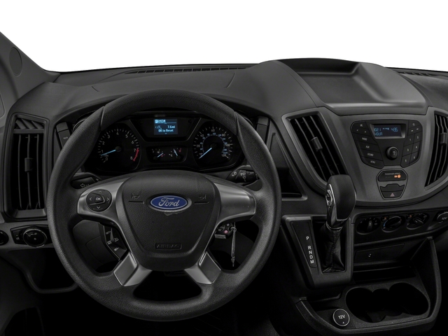 2018 Ford Transit Van Base Price T-250 148 Med Rf 9000 GVWR Dual Dr Pricing driver's dashboard