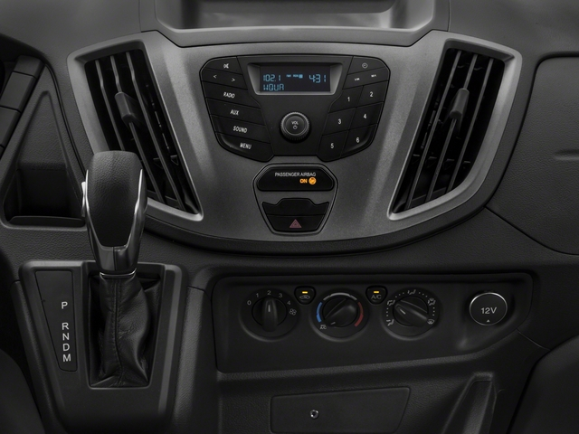 2018 Ford Transit Van Base Price T-250 148 Med Rf 9000 GVWR Dual Dr Pricing stereo system