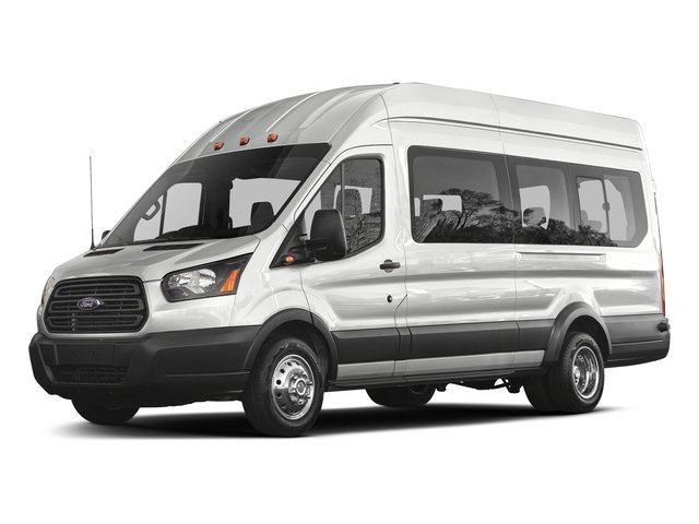 2018 Ford Transit Passenger Wagon Prices and Values Passenger Van XL Low Roof side front view