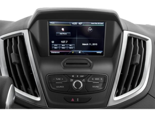 2018 Ford Transit Passenger Wagon Prices and Values Passenger Van XL Low Roof stereo system