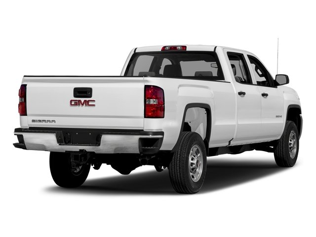 2018 GMC Sierra 3500HD Base Price 2WD Crew Cab 153.7 Pricing side rear view