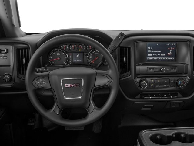 2018 GMC Sierra 3500HD Base Price 2WD Crew Cab 153.7 Pricing driver's dashboard