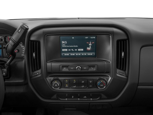 2018 GMC Sierra 3500HD Base Price 2WD Crew Cab 153.7 Pricing stereo system