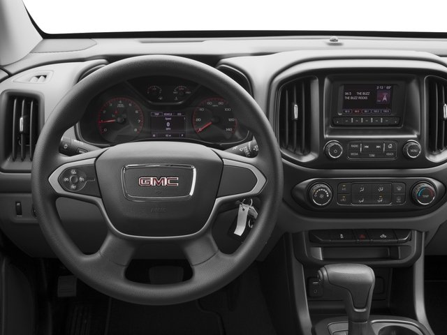 2018 GMC Canyon Base Price 2WD Crew Cab 128.3 Pricing driver's dashboard