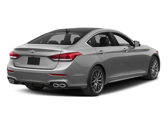 2018 Genesis G80 Pictures G80 3.3T Sport AWD photos side rear view