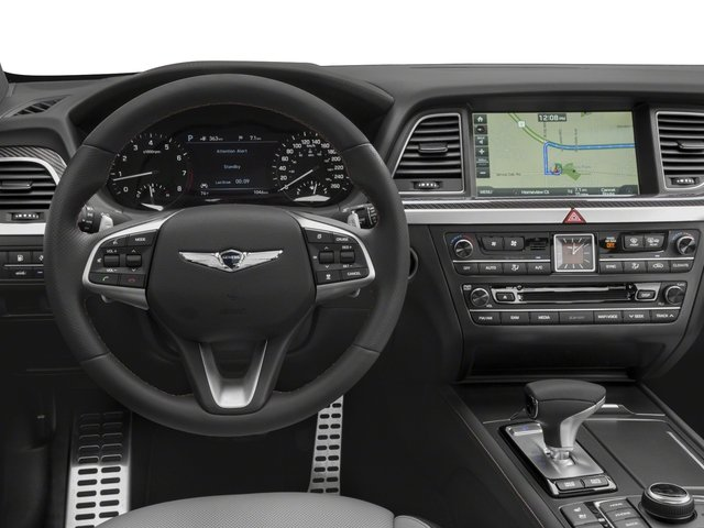 2018 Genesis G80 Base Price 3.3T Sport RWD Pricing driver's dashboard