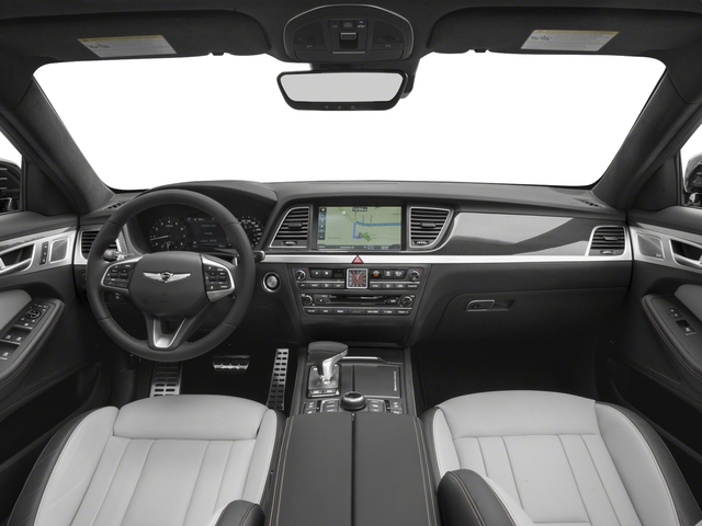 2018 Genesis G80 Pictures G80 3.3T Sport AWD photos full dashboard