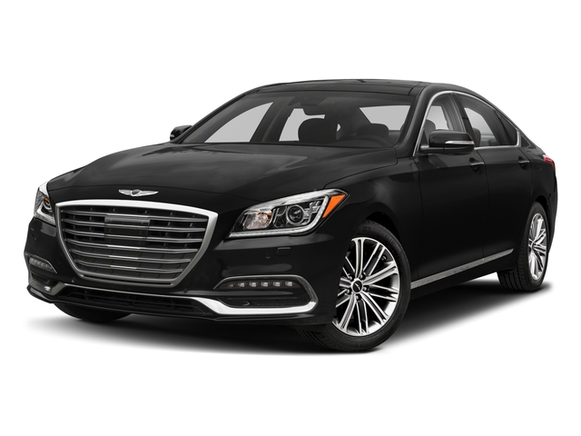 2018 Genesis G80 Pictures G80 3.8L AWD photos side front view