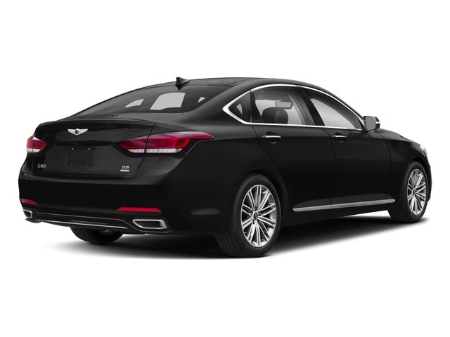 2018 Genesis G80 Pictures G80 3.8L AWD photos side rear view