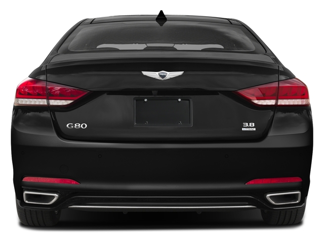 2018 Genesis G80 Pictures G80 3.8L RWD photos rear view