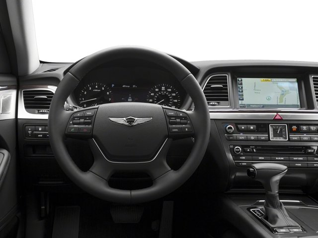 2018 Genesis G80 Pictures G80 3.8L AWD photos driver's dashboard