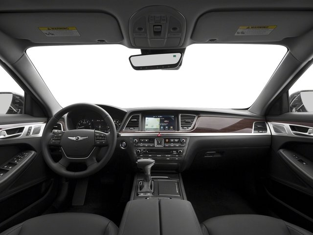 2018 Genesis G80 Pictures G80 3.8L RWD photos full dashboard