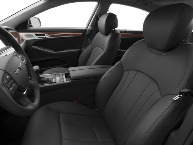 2018 Genesis G80 Pictures G80 3.8L AWD photos front seat interior