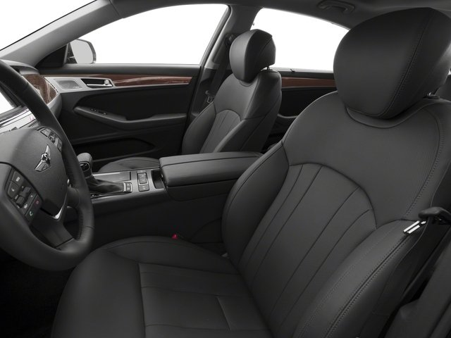 2018 Genesis G80 Pictures G80 3.8L RWD photos front seat interior
