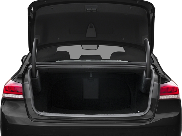 2018 Genesis G80 Pictures G80 3.8L AWD photos open trunk