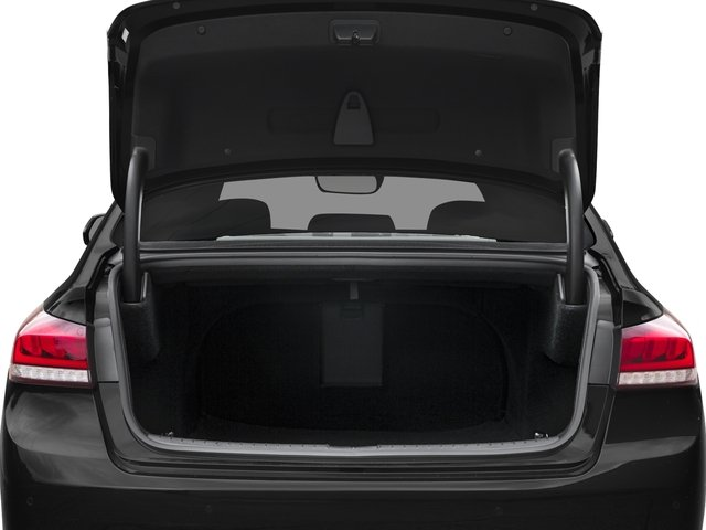 2018 Genesis G80 Pictures G80 3.8L RWD photos open trunk