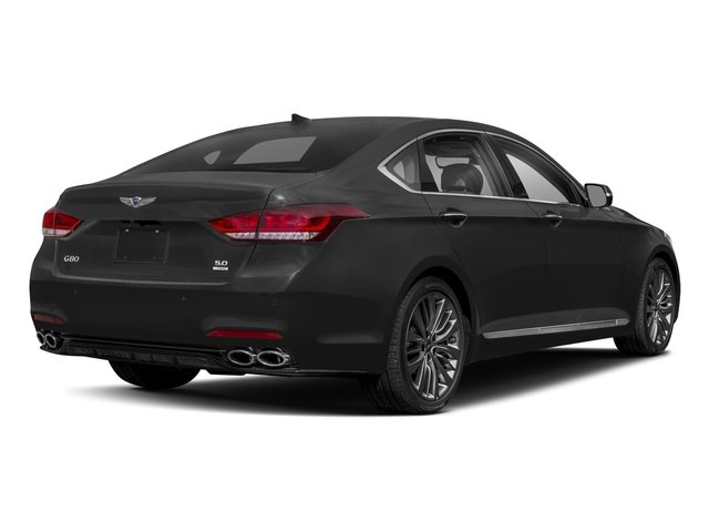 2018 Genesis G80 Base Price 5.0L Ultimate AWD Pricing side rear view