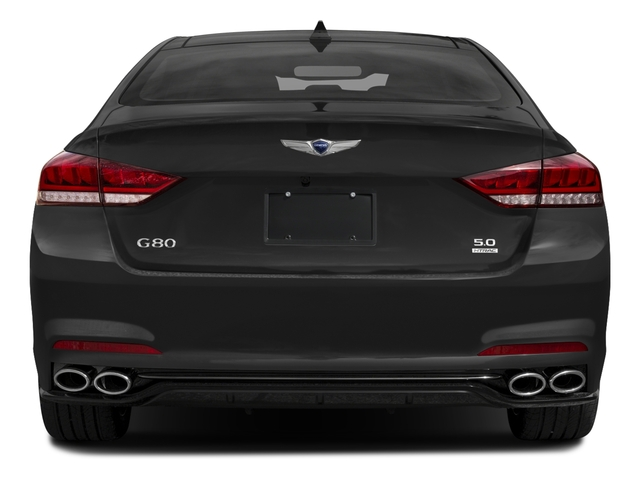 2018 Genesis G80 Base Price 5.0L Ultimate AWD Pricing rear view