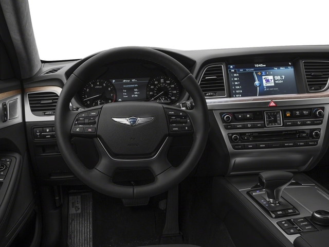 2018 Genesis G80 Base Price 5.0L Ultimate RWD Pricing driver's dashboard