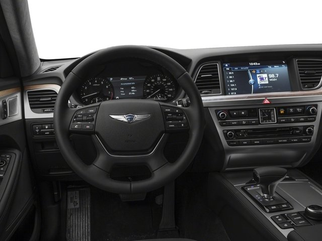 2018 Genesis G80 Base Price 5.0L Ultimate AWD Pricing driver's dashboard