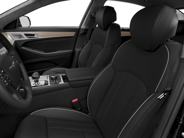 2018 Genesis G80 Base Price 5.0L Ultimate AWD Pricing front seat interior