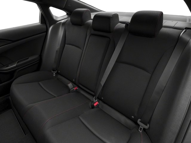 2018 Honda Civic Si Sedan Pictures Civic Si Sedan Manual Photos Backseat  Interior
