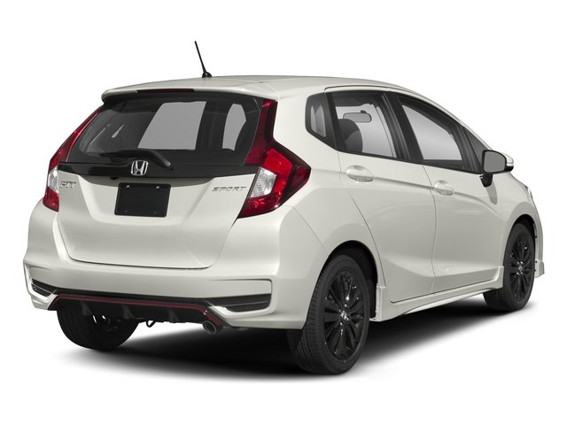 2018 Honda Fit Base Price Sport Cvt Pricing Side Rear View