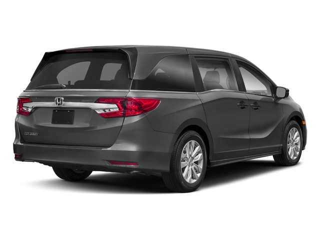 2018 Honda Odyssey Pictures Odyssey LX Auto photos side rear view