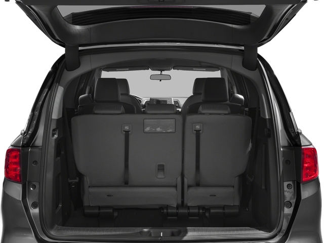 2018 Honda Odyssey Pictures Odyssey LX Auto photos open trunk