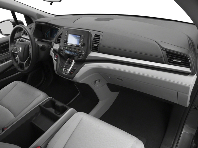 2018 Honda Odyssey Base Price LX Auto Pricing Passengers Dashboard