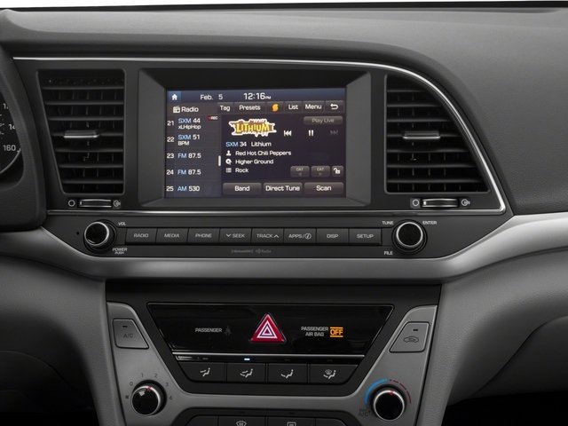 2018 Hyundai Elantra Base Price SE 2.0L Manual Pricing stereo system