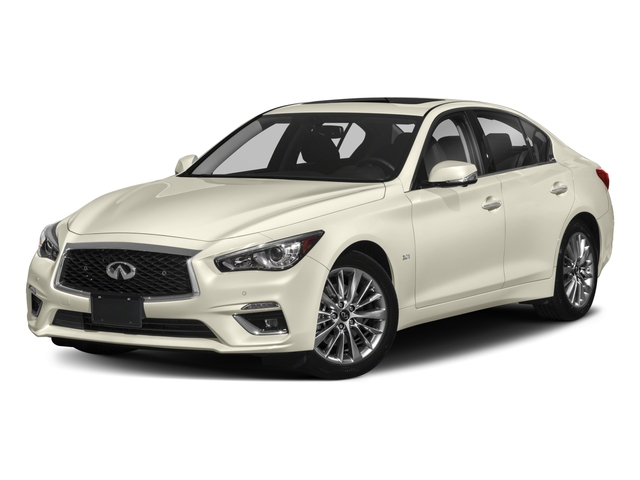 2018 INFINITI Q50 Pictures Q50 2.0t PURE RWD photos side front view