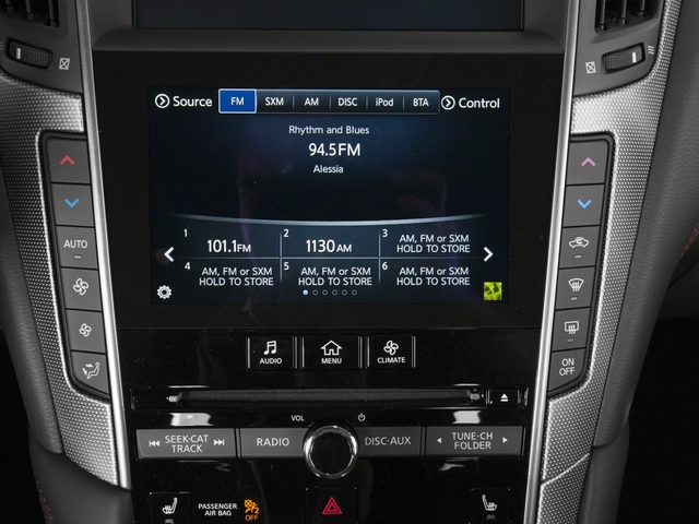 2018 INFINITI Q50 Base Price 3.0t SPORT AWD Pricing stereo system
