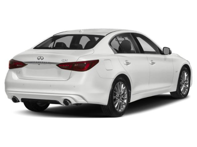 2018 INFINITI Q50 Base Price 3.0t LUXE AWD Pricing side rear view