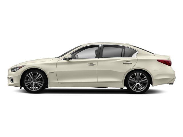 2018 INFINITI Q50 Pictures Q50 Hybrid LUXE RWD photos side view