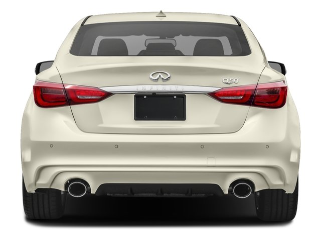 2018 INFINITI Q50 Base Price Hybrid LUXE AWD Pricing rear view