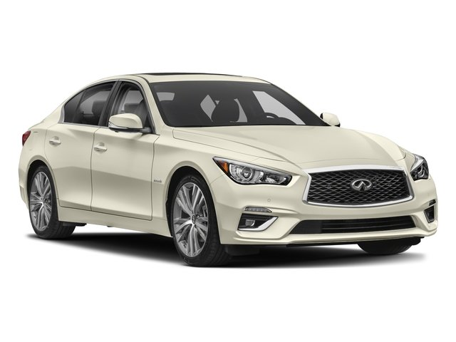 2018 INFINITI Q50 Prices and Values Sedan 4D Luxe Hybrid side front view