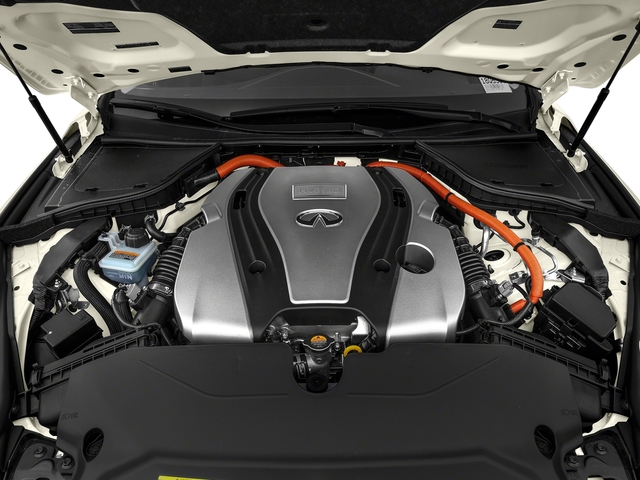 2018 INFINITI Q50 Pictures Q50 Hybrid LUXE RWD photos engine
