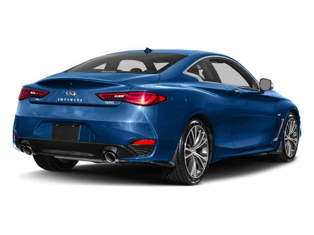 2018 INFINITI Q60 Pictures Q60 2.0t PURE RWD photos side rear view