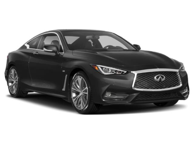 2018 INFINITI Q60 Prices and Values Coupe 2D 2.0T Luxe side front view