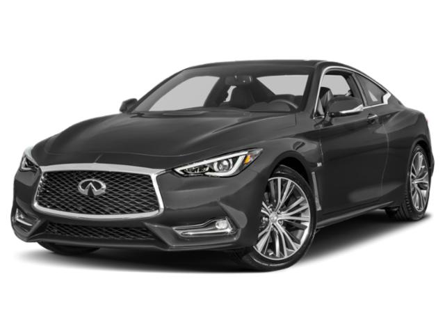 2018 INFINITI Q60 Pictures Q60 2.0t LUXE AWD photos side front view