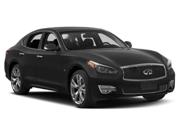 2018 INFINITI Q70 Prices and Values Sedan 4D AWD V8 side front view