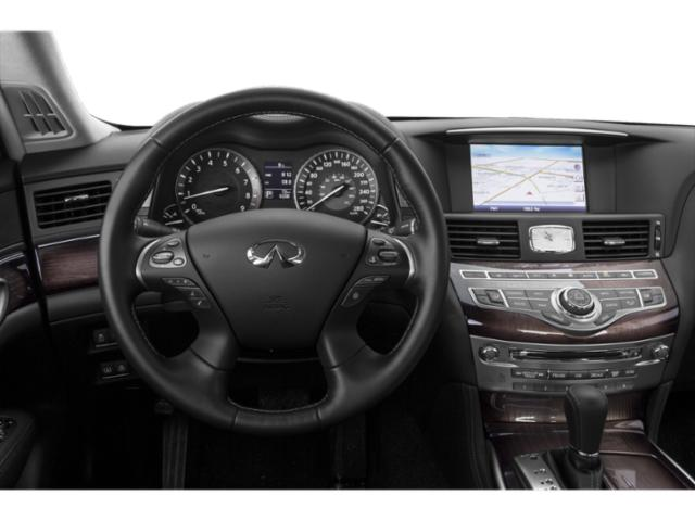 2018 INFINITI Q70 Prices and Values Sedan 4D AWD V8 driver's dashboard
