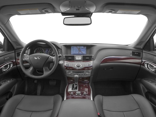 2018 INFINITI Q70 Pictures Q70 Hybrid LUXE RWD photos full dashboard