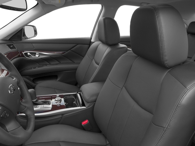 2018 INFINITI Q70 Prices and Values Sedan 4D V6 Hybrid front seat interior