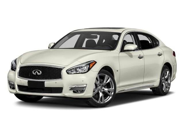 2018 INFINITI Q70L Pictures Q70L 3.7 LUXE AWD photos side front view